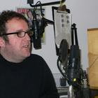 Mosaic co-producer Warren Dudley in the studio